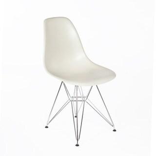 Hans Andersen Home Chrome Mid-Century Eiffel Dining Chair