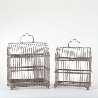 Nesting Bird Cages - Set of 2