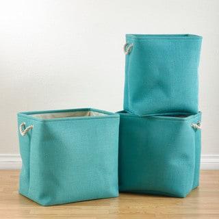 Jute Nesting Baskets - 3 Piece Set