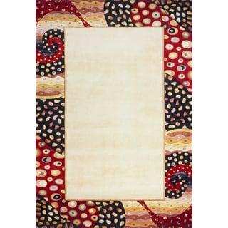 "West Indies Multi Hand-Tufted Rug (9'6""x13'6"")"