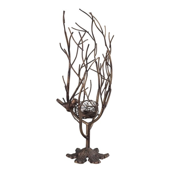 Sterling Birds Nest-Birds Nest Candle Holder
