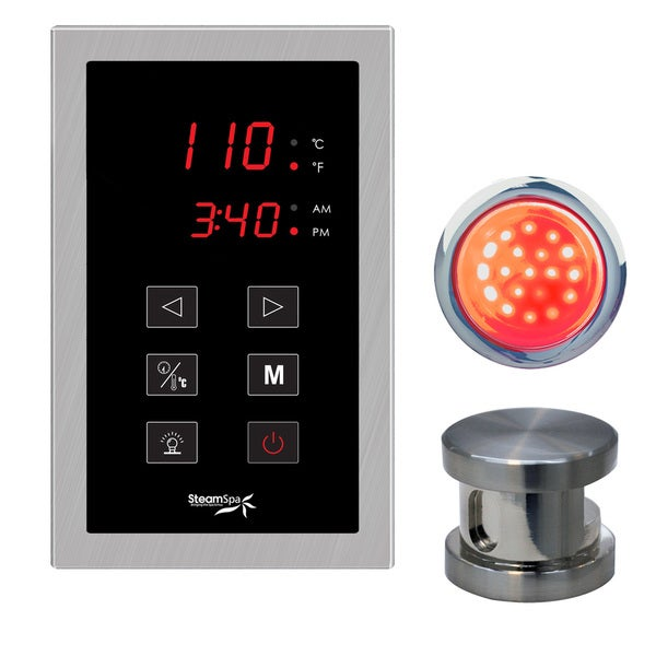 Indulgence Touch Panel Control Kit in Brushed Nickel