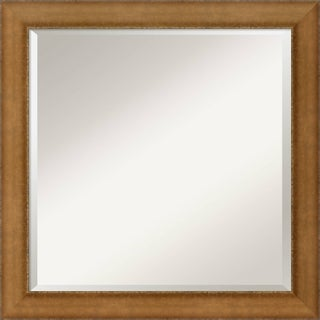 Egyptian Bronze Wall Mirror - Square 24 x 24-inch