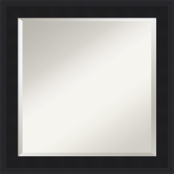 Urbano Black Wall Mirror - Square 25 x 25-inch