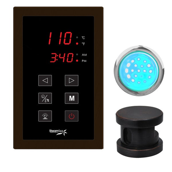 Indulgence Touch Panel Control Kit in Oil Rubbed Bronze