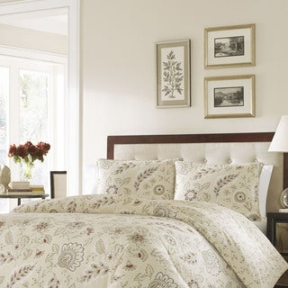 Stone Cottage Bordeaux Cotton Sateen Duvet Cover Set
