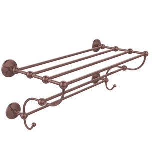Allied Brass Prestige Monte Carlo Collection 24-inch Train Rack Towel Shelf