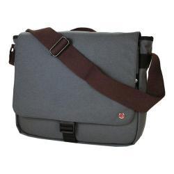 Token Jay Grey Laptop Messenger Bag