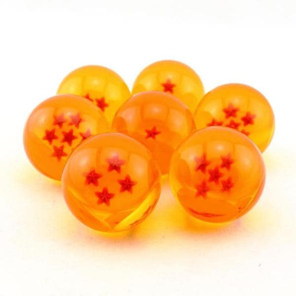 Dragon Ball Z Crystal Balls (Set of 7)