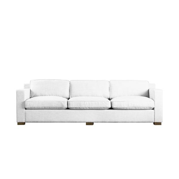 White Linen Bryant Sofa
