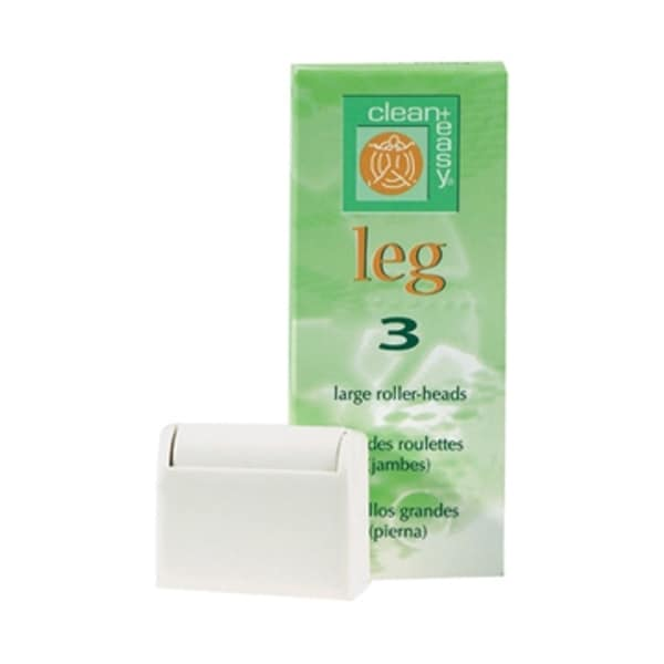Clean & Easy Wax Large Roller Head (Pack of 3)