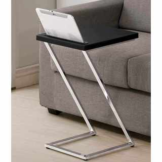 Lorient Sleek Z Style Snack Side Table with Tablet Slot