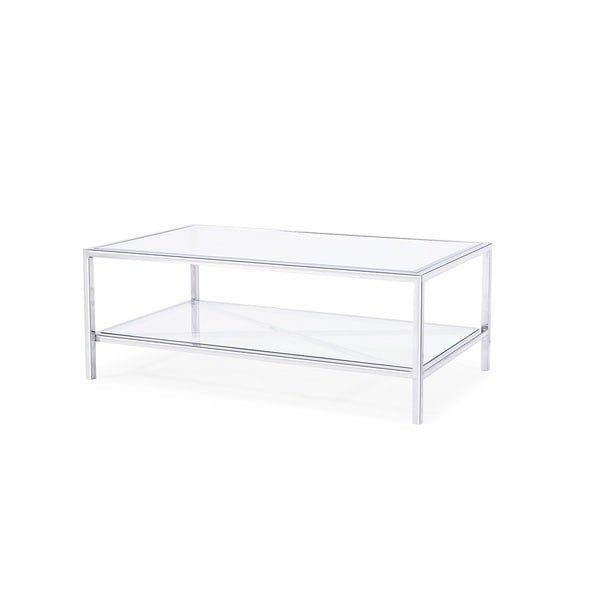 Gardner Coffee Table, Silver