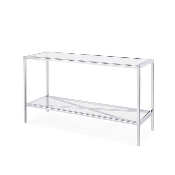 Gardner Console Table, Silver