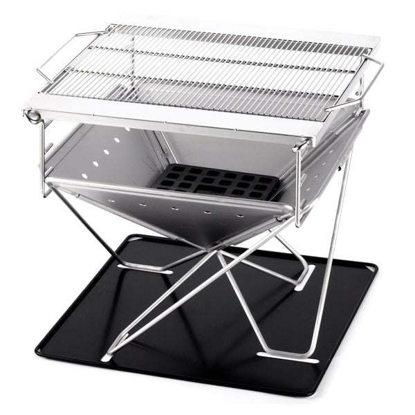 Medium Folding Steel Portable Charcoal BBQ Grill