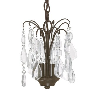 Capital Lighting Axis Collection 3-light Russet Mini Chandelier