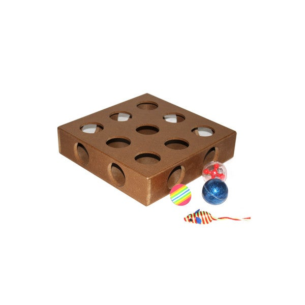Cat Puzzle Toy Box