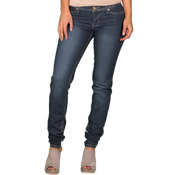 Apple Bottoms Junior Plus Medium Stonewash Skinny Jean