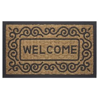 "Coco Scrolls Welcome Mat (18"" x 30"")"