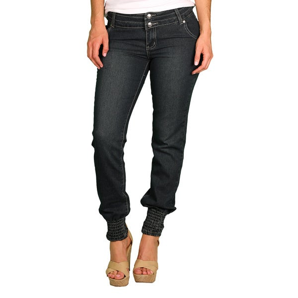 Apple Bottoms Junior Plus Dark Wash Skinny Jean