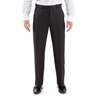 Men's Plain Front Dress Pants