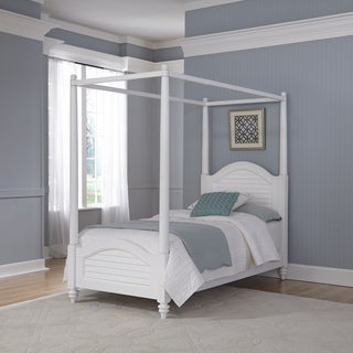 Home Styles Bermuda Twin Canopy Bed
