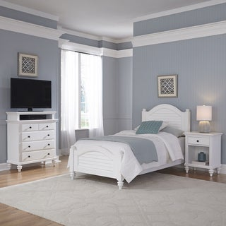 Bermuda Twin Bed, Night Stand, and Media Chest