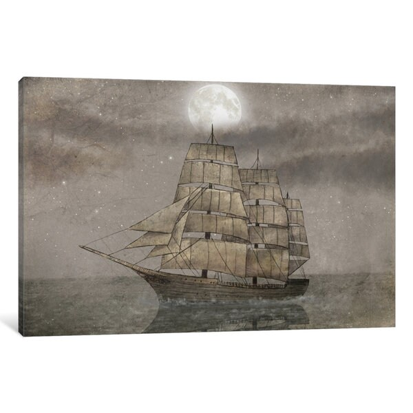 Night Journey Canvas Wall Art