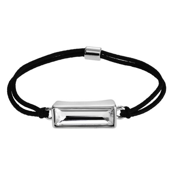 Journee Collection Glass Elastic Hair Tie or Bracelet