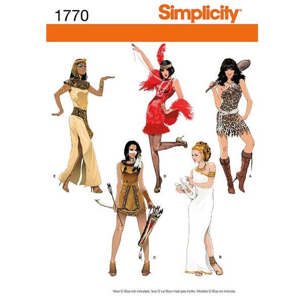 Misses' Costumes-8-10-12-14-16