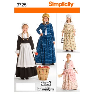 SIMPLICITY CHILDS AND GIRLS COSTUMES-7,8,10,12,14