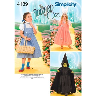 SIMPLICITY CHILDS COSTUMES-3,4,5,6,7,8