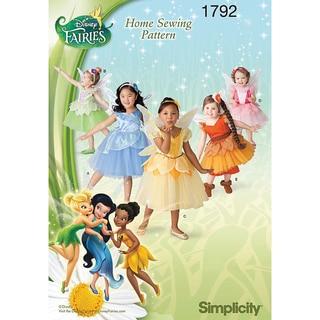 Toddlers' & Child's Disney Fairies Costume-4-5-6-7-8