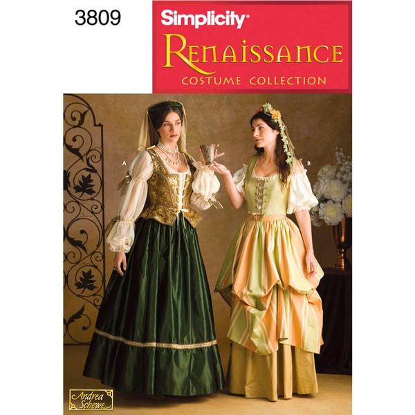 SIMPLICITY MISSES COSTUMES-4,6,8