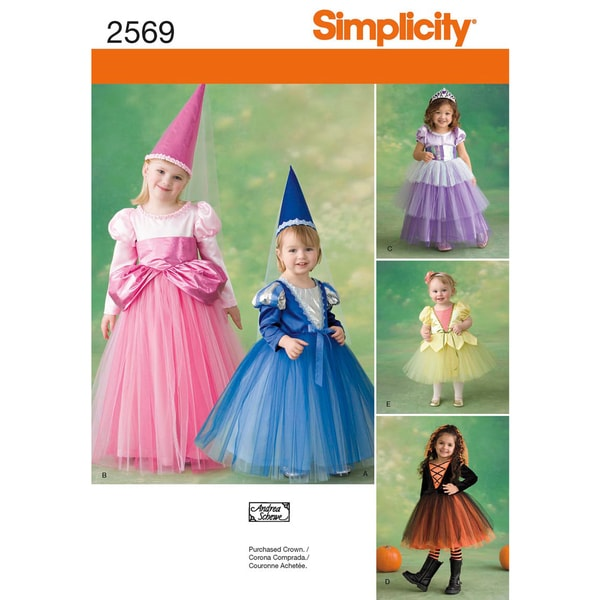 SIMPLICITY CRAFTS COSTUMES-4 5 6 7 8