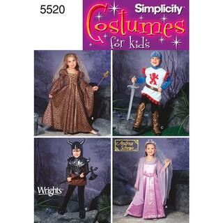 Simplicity Child's Costumes-3,4,5,6,7,8
