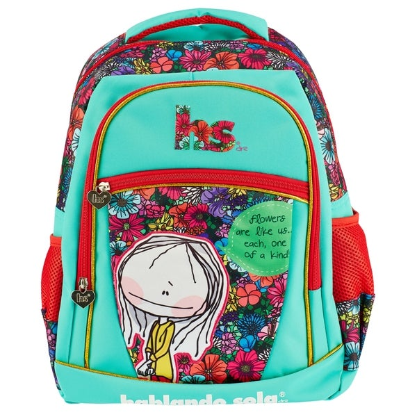 Hablando Sola Floral Backpack