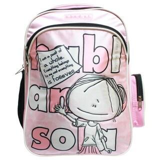 Hablando Sola Pink Part of Me Backpack