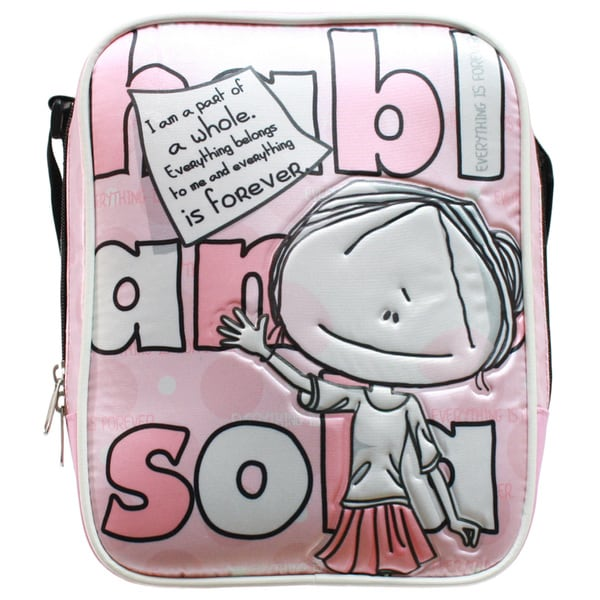 Hablando Sola Pink Part of Me Lunchbag
