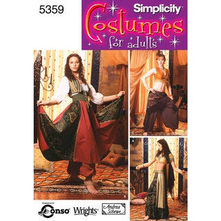 Simplicity Misses' Costumes-14,16,18,20