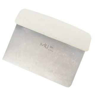 Miu France Multi-purpose Stainless Steel Scraper and Chopper
