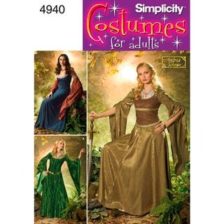 Simplicity Misses' Costumes-10,12,14,16,18