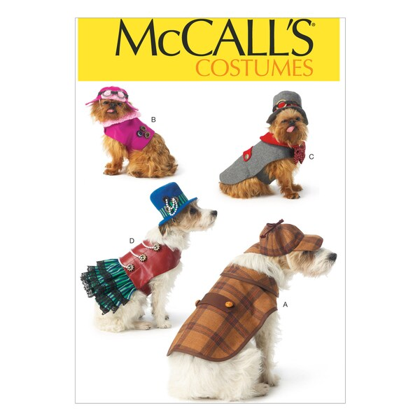 Pet Costumes-All Sizes In One Envelope