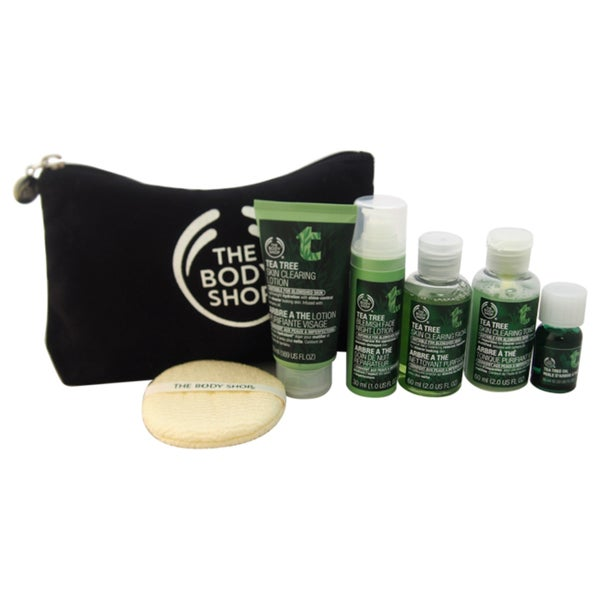 The Body Shop Tea Tree Collection Travel Exclusive 7-piece Kit