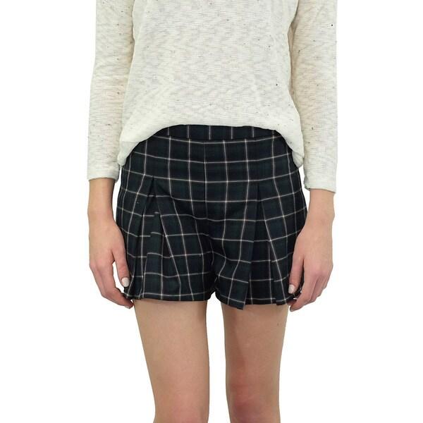 Women's Plaid Prepster Shorts