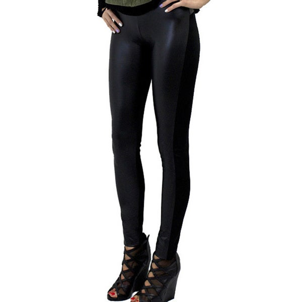 Women's Contemporary Any Weather Pleather Jeggings