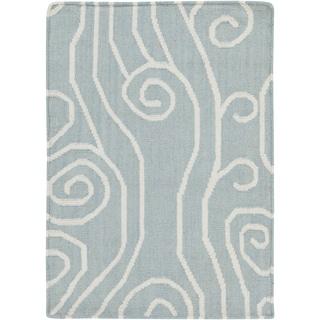 Somerset Bay:Hand-Woven Chertsey Wool Rug (9' x 13')