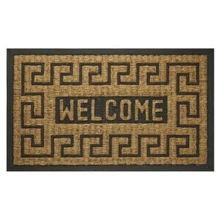 """Welcome Key Coco Door Mat (18"""" x 30"""")"""