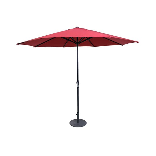 Red 9-Foot Patio Umbrella