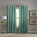 Tile Play Teal Drapes
